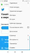 Настройки браузера на Андроид